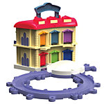.Double-Decker Roundhouse Portable Playset