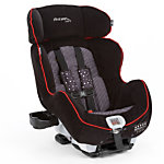 True Fit Premier Convertible Car Seat - Elegance Black and Red