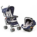 .Wisp Travel System - Spiro Navy and Gray