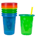 Take & Toss 10oz Straw Cups (4-pack)