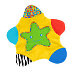 Star Teething Blanket