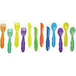 Take & Toss Toddler Flatware (with toddler knife) - 12-pack