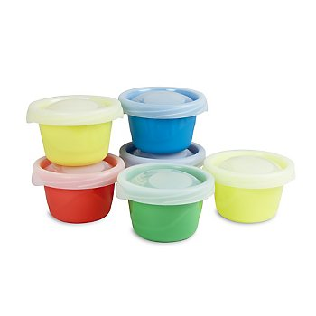 Ziploc (R) Brand  4.5 oz Snack Cups - 6-pack