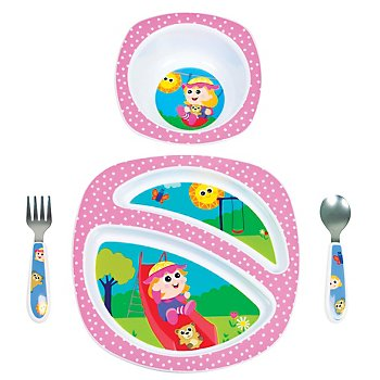 My Friend Emily 4-piece Feeding Set (Lamaze design)
