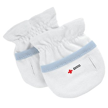 American Red Cross No-Scratch Mitts