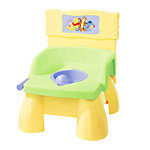 Disney Pooh 3-in-1 Flush & Sounds Potty - yellow