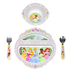 Disney Princesses 4-piece Feeding Set