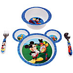 Mickey Mouse Clubhouse 4-piece Feeding Set