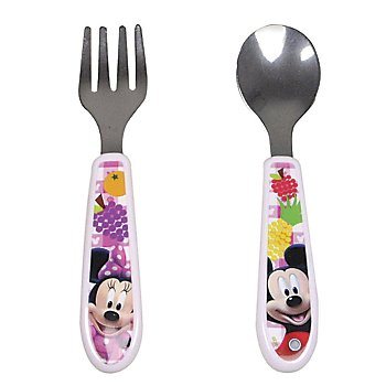 Minnie Mouse Easy-Grasp Fork and Spoon