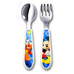 Mickey Mouse Clubhouse Easy-Grasp Fork and Spoon