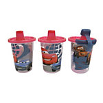 Disney-Pixar Cars 2 Take & Toss 10oz Sippy Cups - 3-pack (Walmart-exclusive design)