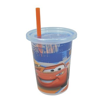 Disney-Pixar Cars Take & Toss 10oz Straw Cups - 3-pack