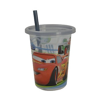 Disney-Pixar Cars 2 Take & Toss 10oz Straw Cups - 3-pack