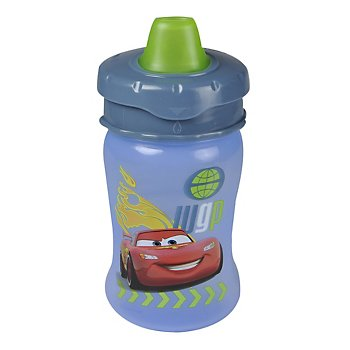 Disney-Pixar Cars 2 10oz Soft Spout Travel Lock Sippy Cup