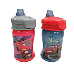 Disney-Pixar Cars 2 10oz Soft Spout Travel Lock Sippy Cup (Walmart-exclusive design)