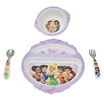 Disney Fairies 4-piece Feeding Set