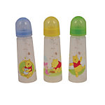 Disney Pooh 8 oz Narrow Neck Bottle (3-pack)