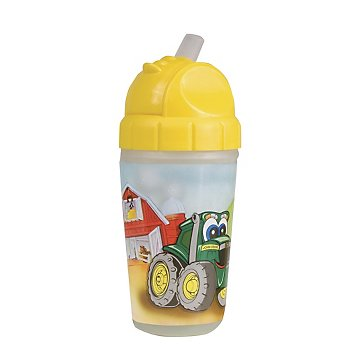 John Deere Insulated 9oz Straw Cup