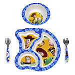 Toy Story 3 4-piece Feeding Set